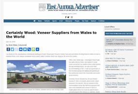 East Aurora Advertiser Certainly Wood article